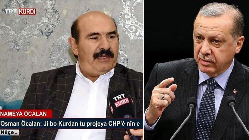 Erdoğan'dan Osman Öcalan açıklaması: Kırmızı bültenle arandığını bilmiyordum
