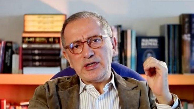 Fatih Altaylı: 'Din elden gidiyor' diye kıyamet koparılıyorsa elden giden mutlaka başka bir şeyler vardır