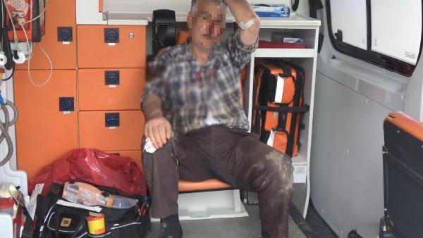 Akrabalar arasında arsa kavgası: 2 yaralı, 1 gözaltı