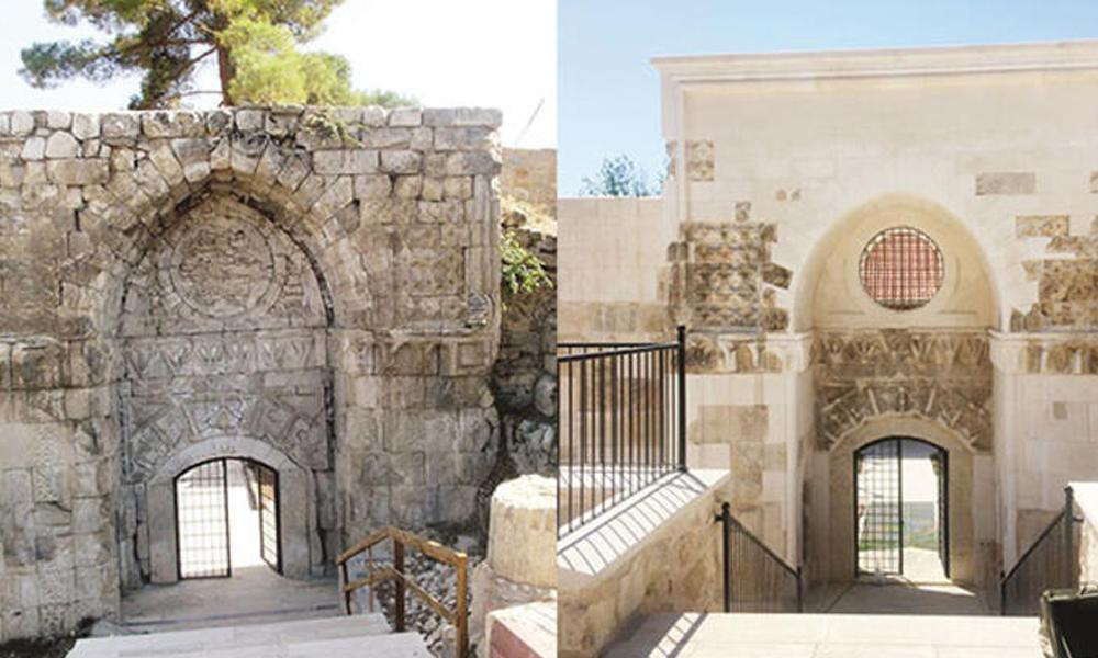 '800 yıllık tarih' restorasyon adı altında yok edildi!