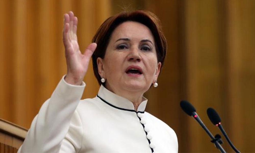 Meral Akşener'den AKP ve MHP'ye: Beka dediler takaya binip İmralı'ya gittiler
