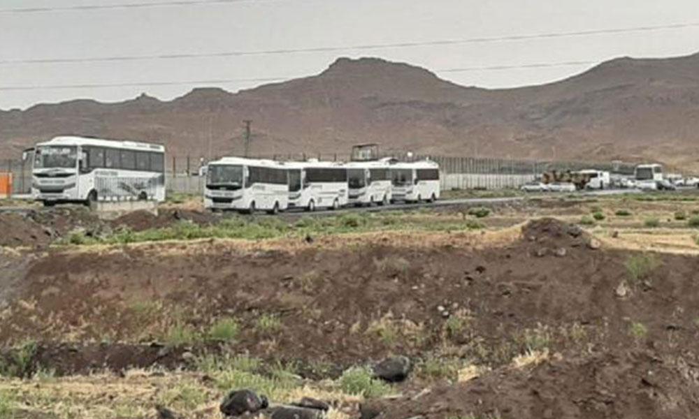 Iğdır'da ayaklanma çıkaran mülteciler Kırklareli'de