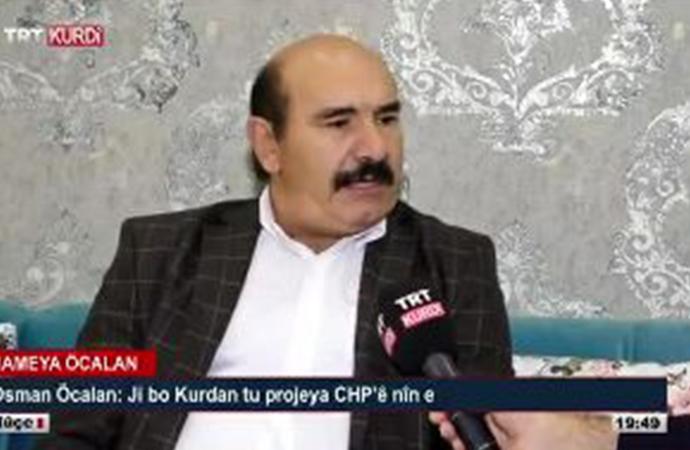 AKP iktidarı Öcalan ailesine sarıldı… Abdullah Öcalan'ın kardeşi Osman Öcalan TRT'ye çıktı!