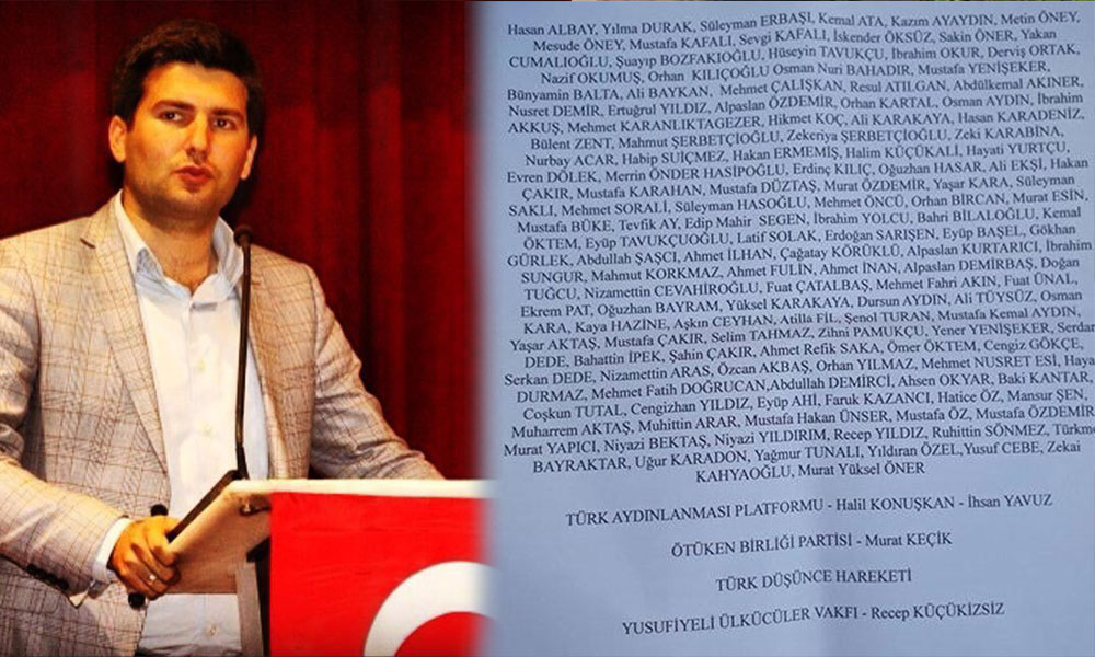 Saldırıları organize eden MHP'li Ahmet Yiğit Yıldırım ülkücüleri isim isim tehdit etti