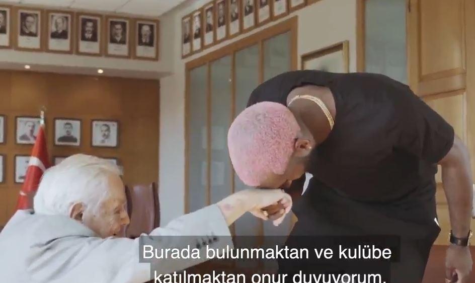 Galatasaray Ryan Babel'i işte bu videoyla açıkladı