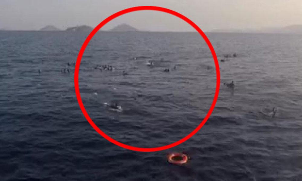 Bodrum'da can pazarı! Göçmenleri taşıyan tekne battı: 8 kişi öldü, 31 kişi kurtarıldı