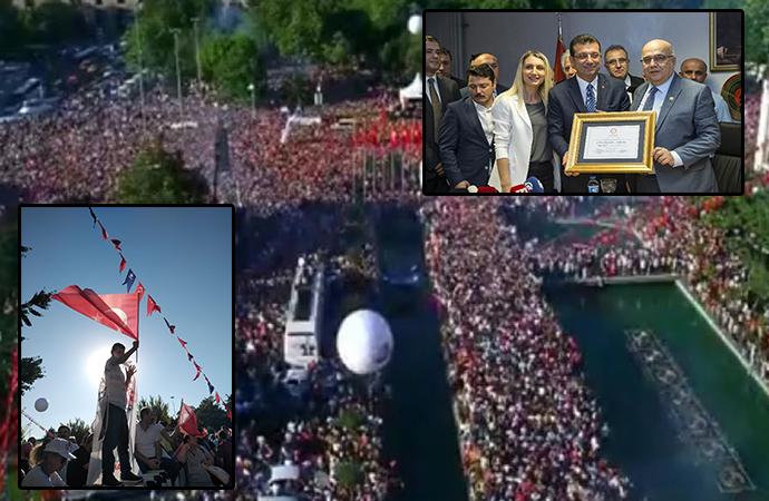 İstanbul'da zafer coşkusu… İşte tarihi günden kareler