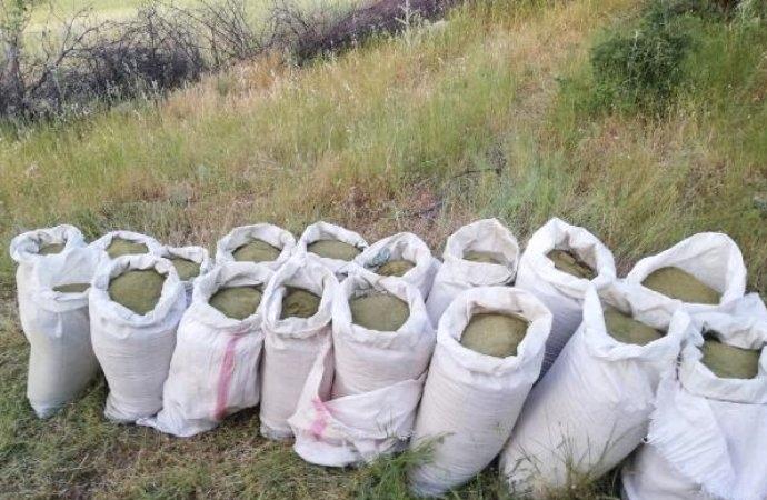 Diyarbakır'da 314 kilo esrar ele geçirildi