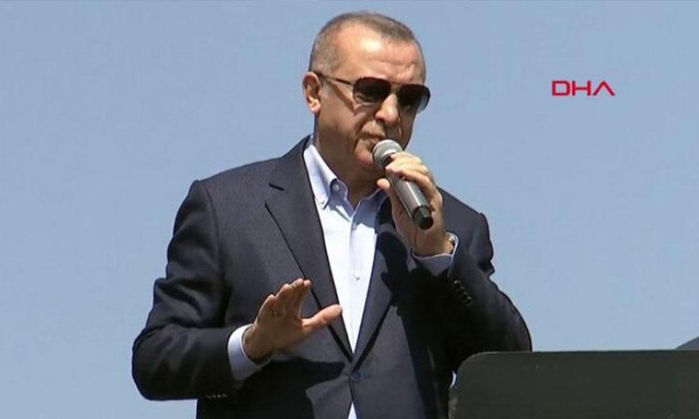 Erdoğan'dan Ekrem İmamoğlu'na tehdit: Seçimden sonra hesabını vereceksin