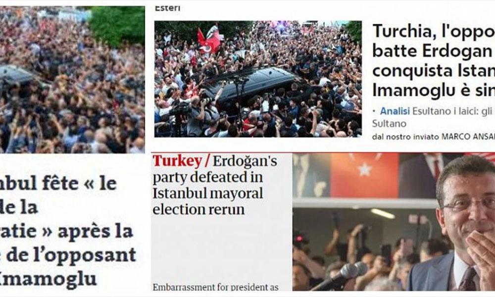 Dünya basını İmamoğlu'nun zaferini böyle gördü: Erdoğan döneminin sonu başlıyor…
