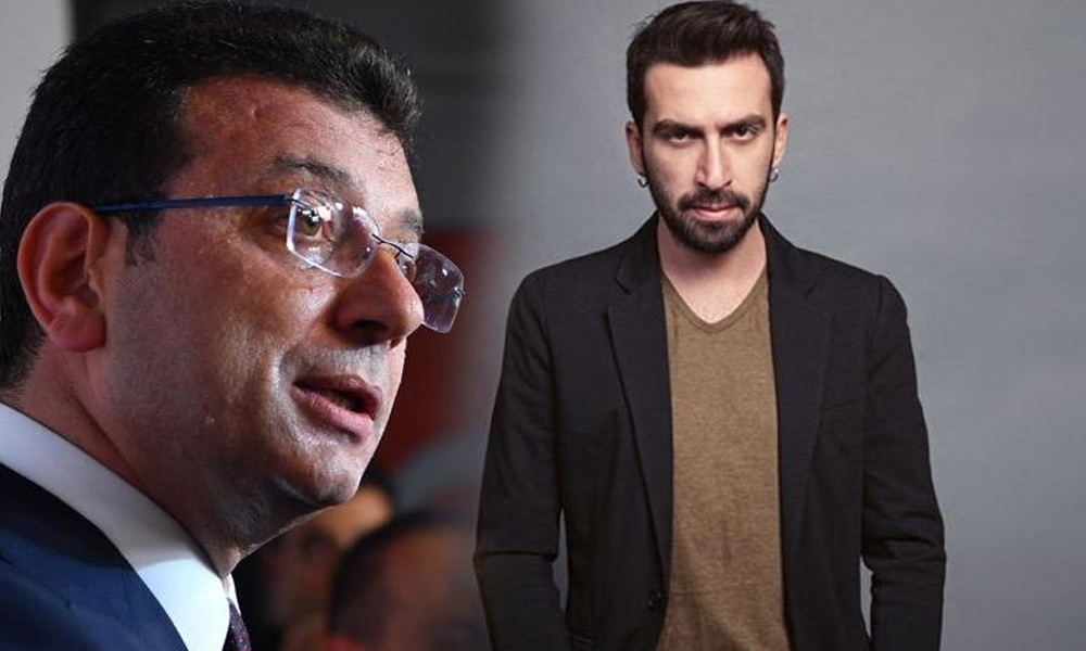 Oyuncu Erdem Yener'den İmamoğlu'na: Ensendeyiz