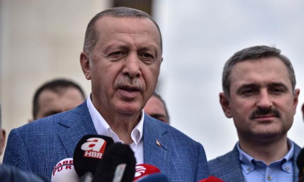 Erdoğan'dan gazetecilere: Size ayar vermek gerekirse zaten iletişim başkanlığımız o işi görür