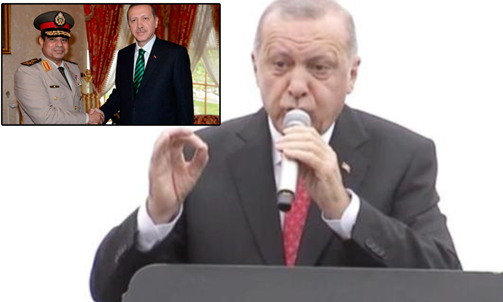 Erdoğan sahaya indi, İmamoğlu'nu 'Sisi' yaptı!