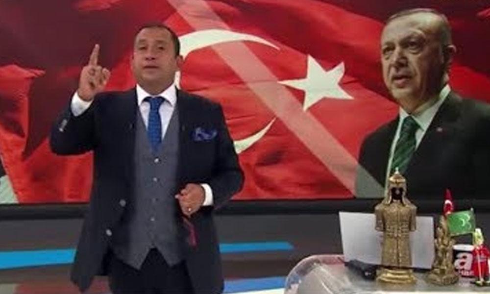 Erkan Tan sonunda Erdoğan'ı da rahatsız etti! 'Ver mehteri'
