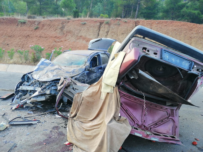 Fethiye'de feci kaza : 2 ölü, 6 yaralı
