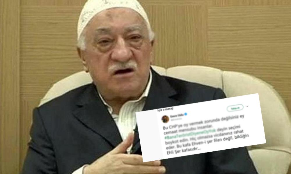 AKP'nin seçim politikasına bir destek de FETÖ'den geldi… Firari 'Uslu' resmen çağrı yaptı