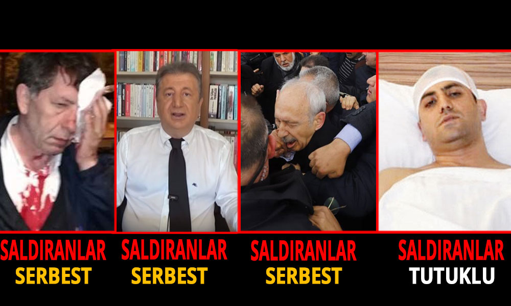 AKP adaletinin iki yüzü!
