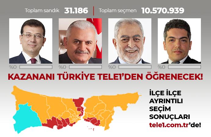 İstanbul seçim sonucu… Anadolu Ajansı sonucu açıklamadan seçim bitti! Binali Yıldırım: Adam kazandı