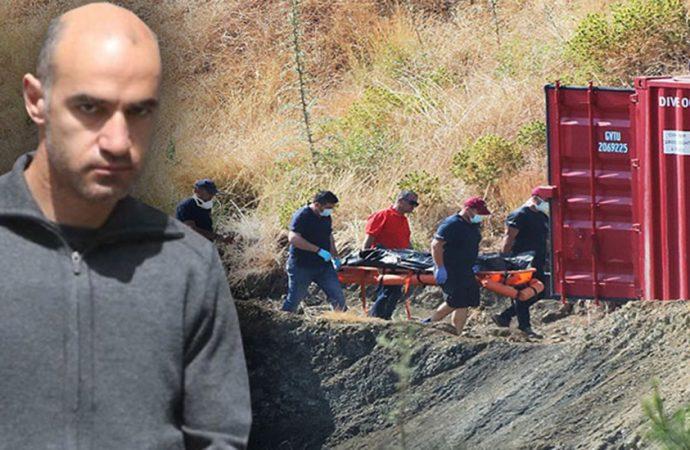 Güney Kıbrıs'ta seri katilin son öldürdüğü çocuğun cesedine ulaşıldı