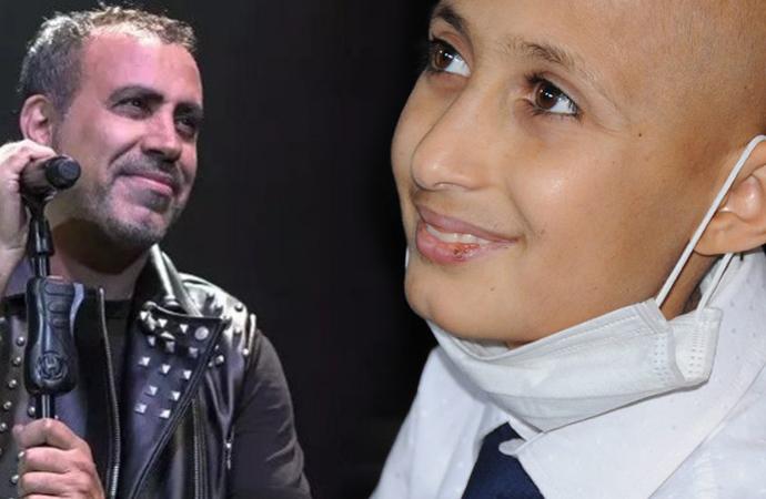 Haluk Levent, lösemi hastası Bünyamin'in konser verme hayalini gerçekleştirdi