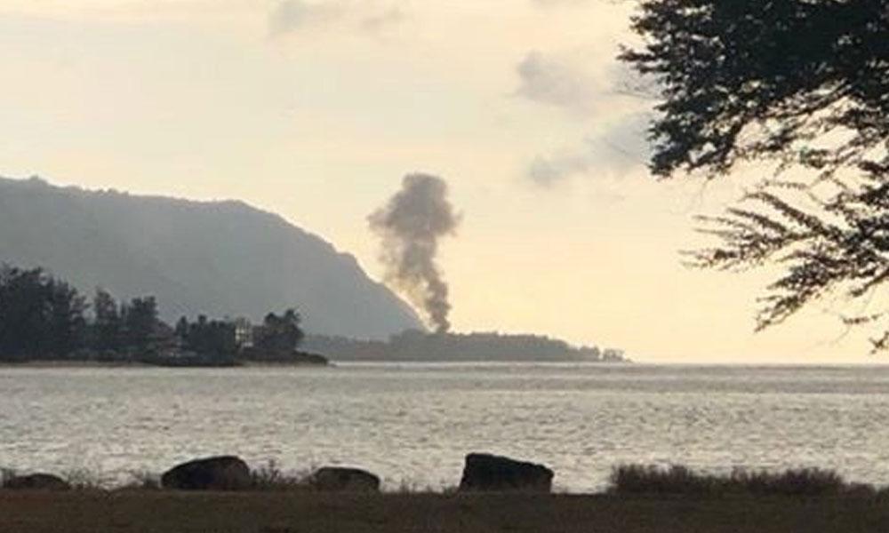 Hawaii'de uçak faciası: Çok sayıda ölü var