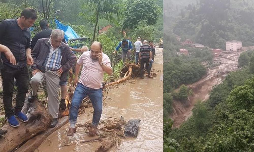Trabzon'daki sel felaketine ilişkin Trabzon Valisi'nden yeni açıklama