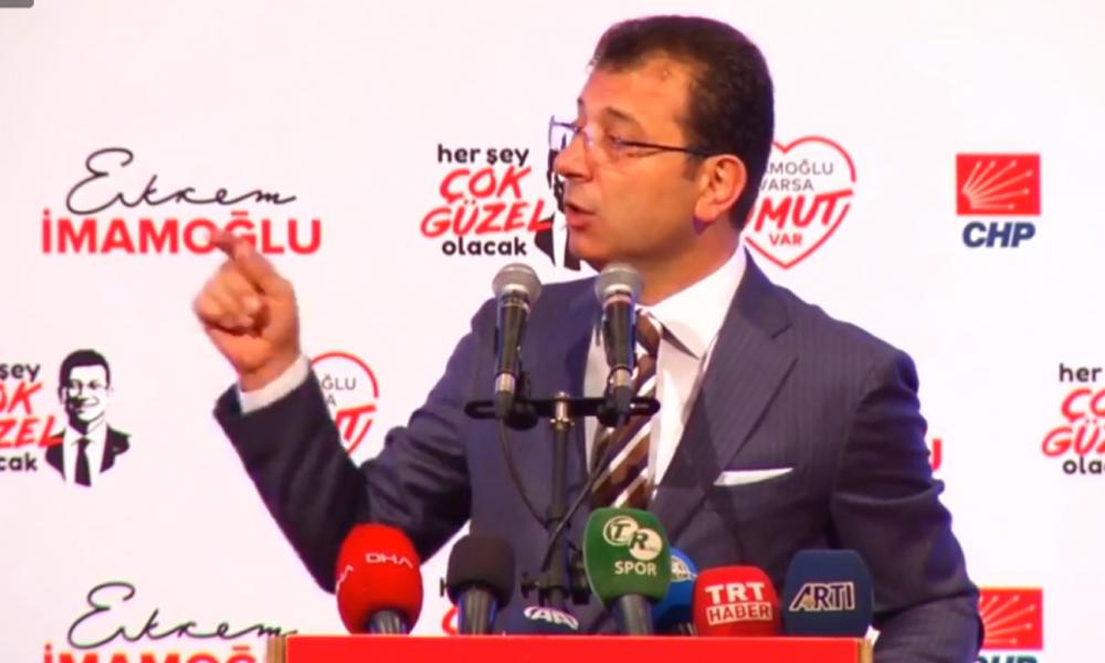 Yandaş medyanın 'diploma' kumpasına İmamoğlu'ndan yanıt!