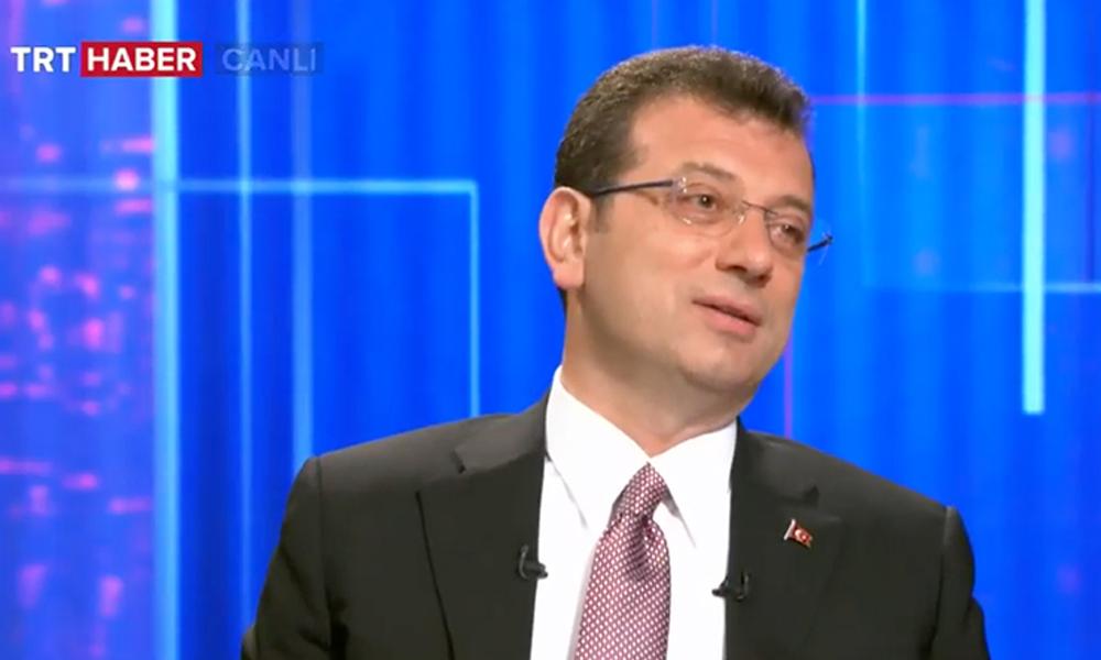 Ekrem İmamoğlu, TRT ekranından TRT'ye seslendi: Burası benim…