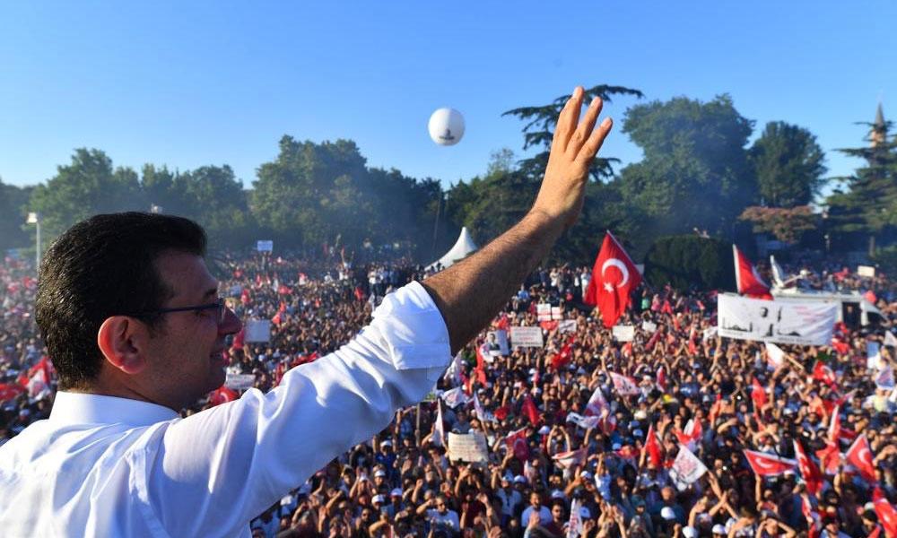 İstanbul'da Demokrasi şöleni… 'Milletin iradesini hiçbir güç geri çeviremez'