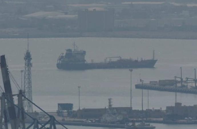 İsrail açıklarında Türk gemisi yandı