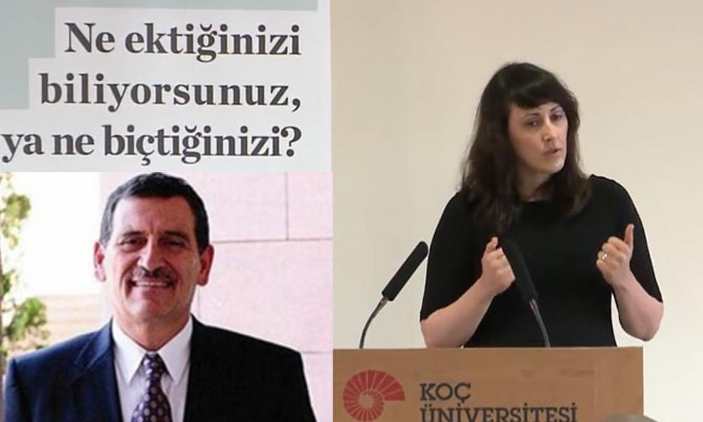 Koç Üniversitesi'nde rektörün kızı Ayşe İnan'a danışmandan 'Şantaj' iddiası