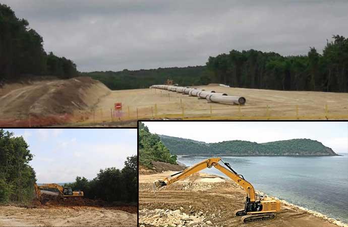 AKP yeşili yok etti, yine yok ediyor… Kuzey Ormanlarına son hançer: Boru hattı