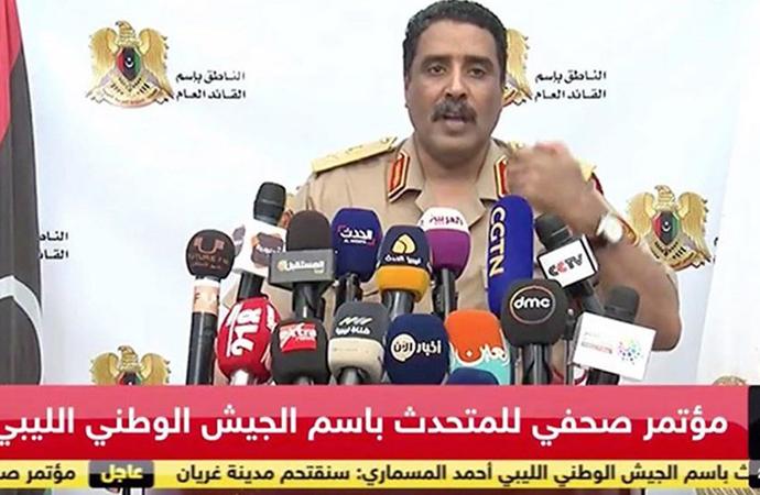 Libya Ulusal Ordusu Sözcüsü'nden flaş açıklama: 'Türk hedefleri düşman hedeflerdir'