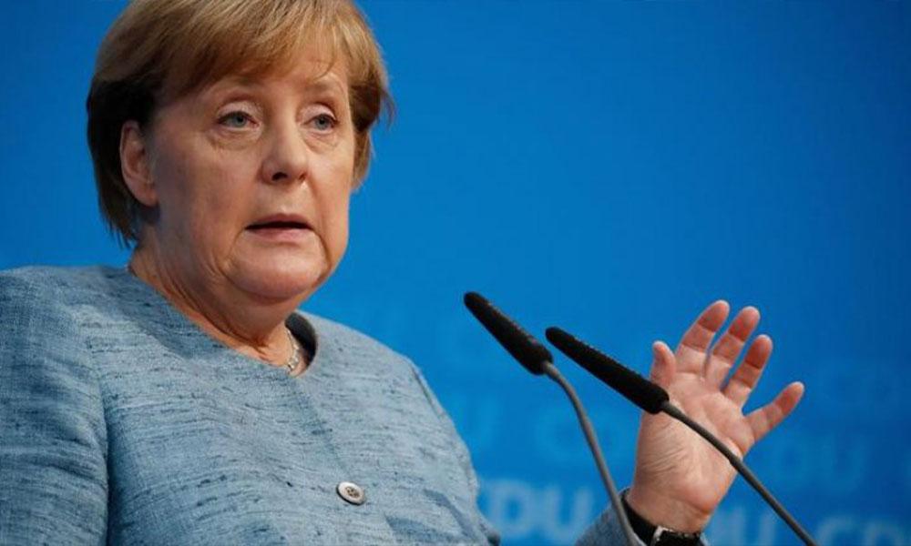 Almanya'daki ırkçı saldırı sonrası Merkel programını iptal etti