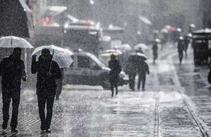 Meteoroloji'den kuvvetli yağış uyarısı