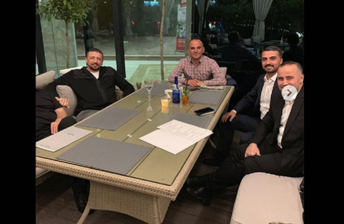 Firari Galip Öztürk'ün, Erdoğan'ın Başdanışmanı Türkoğlu'yla fotoğrafları çıktı