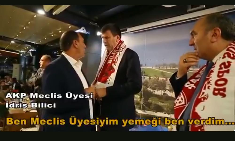 'Yemeği ben verdim' diyen AKP'li meclis üyesi, Kadıköy Belediye Başkanı Şerdil Dara Odabaşı'nın konuşmasına izin vermedi!