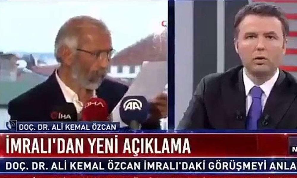 AKP'nin  İmralı'ya gönderdiği Ali Kemal Özcan: Öcalan yerli ve millidir