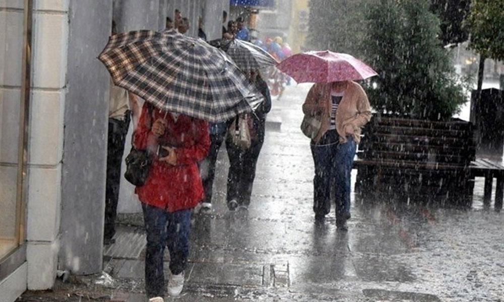 Bayramda havaya dikkat: Meteoroloji'den beş ilde sağanak uyarısı