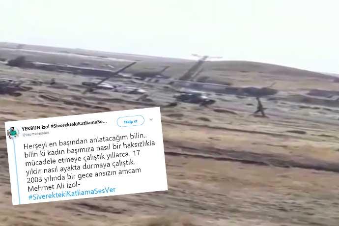 """'Siverek'te katliam' çığlığına ses verin! Bir aileyi yok ettiler. """"AKP'li vekil yaptırdı"""" iddiası"""