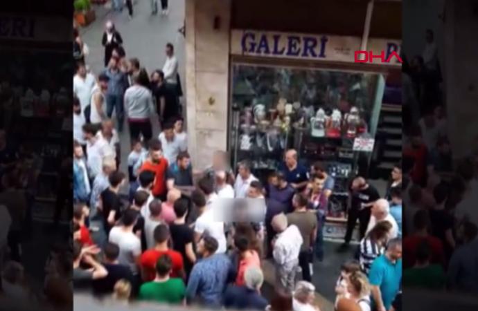 Trabzon'da taciz şüphelisine meydan dayağı