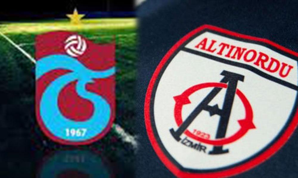 Altınordu'dan Trabzonspor'a tepki: 'Etik Dışı'