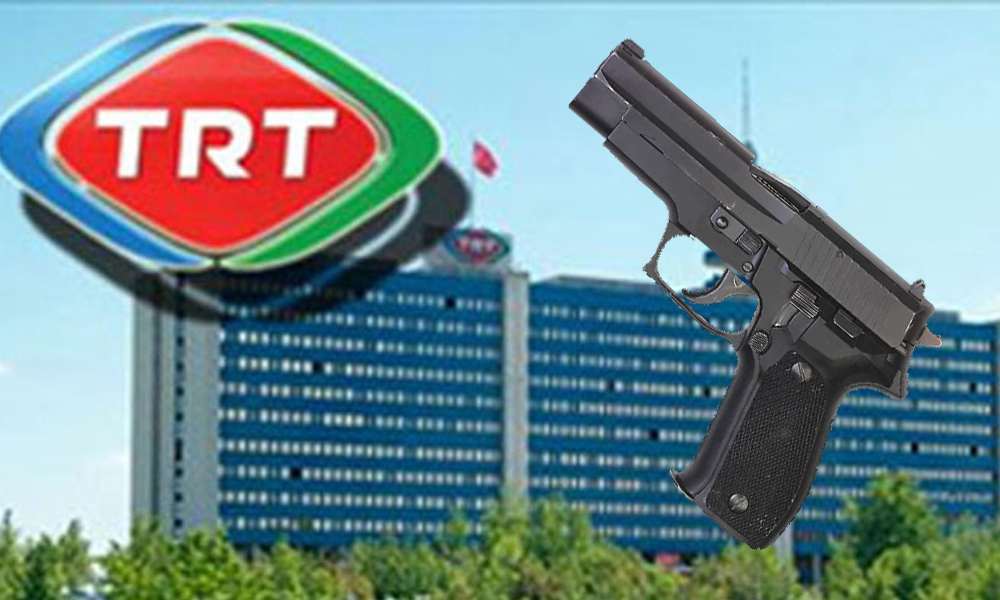 TRT'nin 'silah skandalı' meclis gündemine taşındı!
