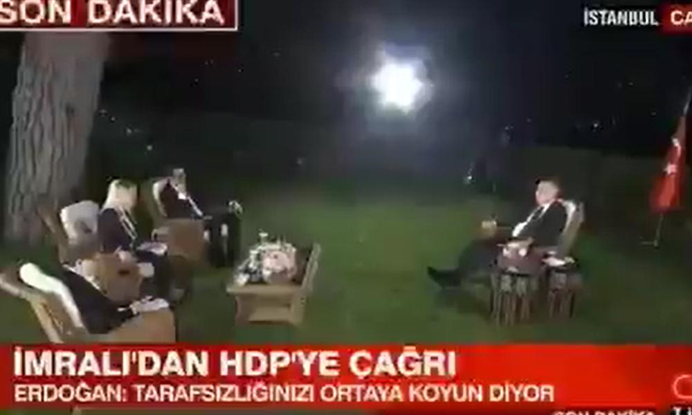 TRT spikeri 'Beni mazur görün' diyerek sordu… Erdoğan böyle köpürdü