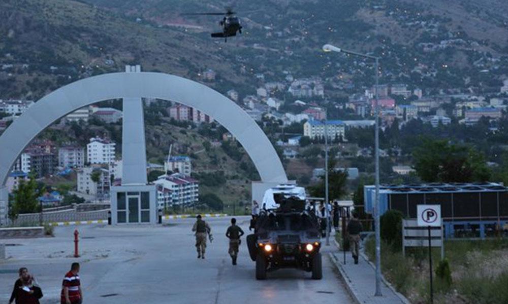 Tunceli'de çatışma, 2 asker yaralandı