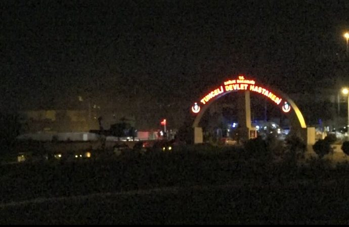 Tunceli'de çatışma: 4 asker ağır yaralı!