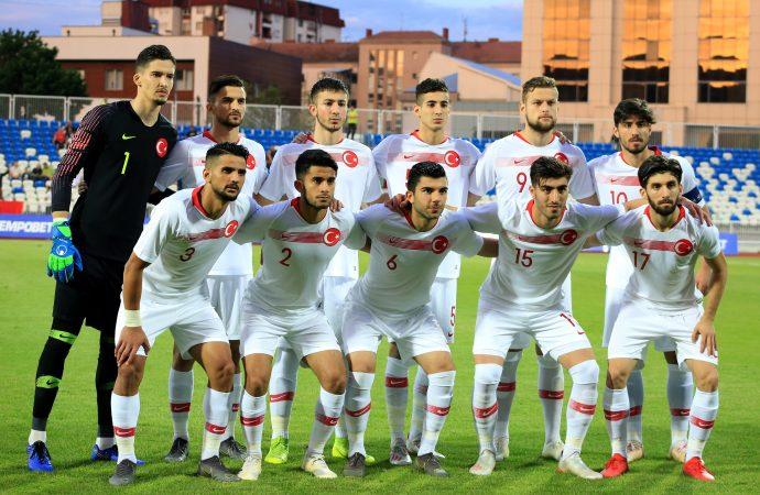 Ümit Milli Futbol Takımı, Kosova'ya mağlup oldu