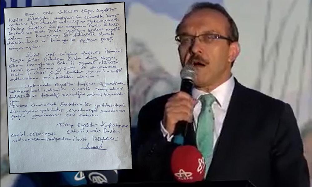 Ordu Valisi Yavuz hakkında 'CHP ve İmamoğlu'na küfür edip T.C.'yi küçümsedi' gerekçesiyle savcılığa suç duyurusu