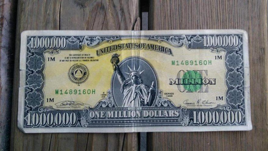 Cebinde servet ile yakalandı: 'Amerikan rüyası'nın sembolü 1 milyon dolarlık banknot, Uşak'ta ele geçirildi