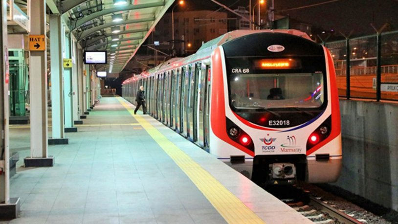 Marmaray'da panikleten anons: Acilen peronları boşaltın!